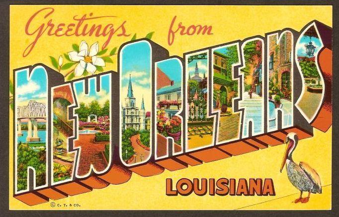 new-orleans-vintage-postcard - LabasTravel