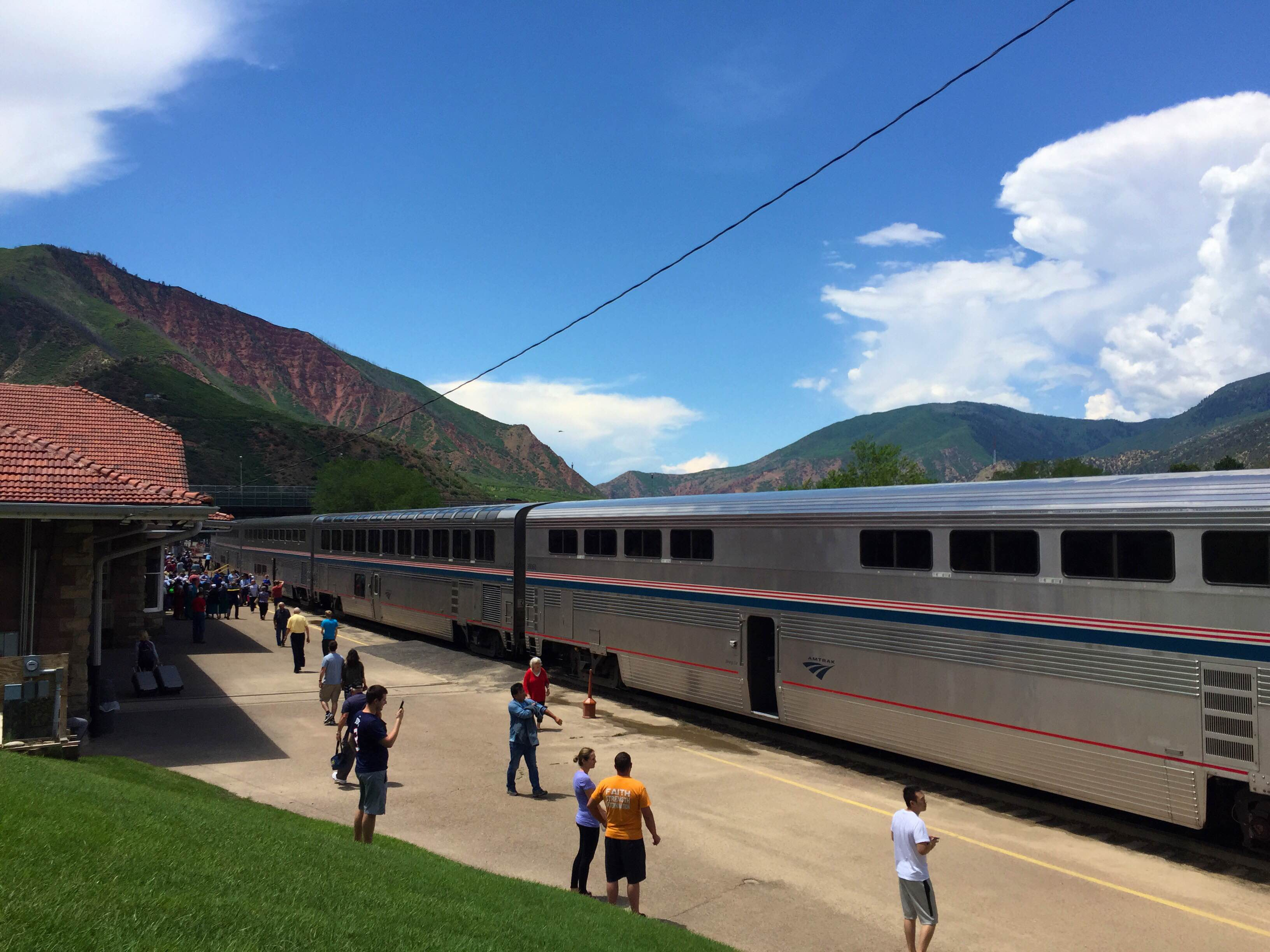 Amtrak Mooning Pictures review: amtrak california zephyr - chicago to emeryville